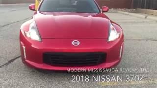 Modern Mississauga Media reviews the 2018 Nissan 370Z