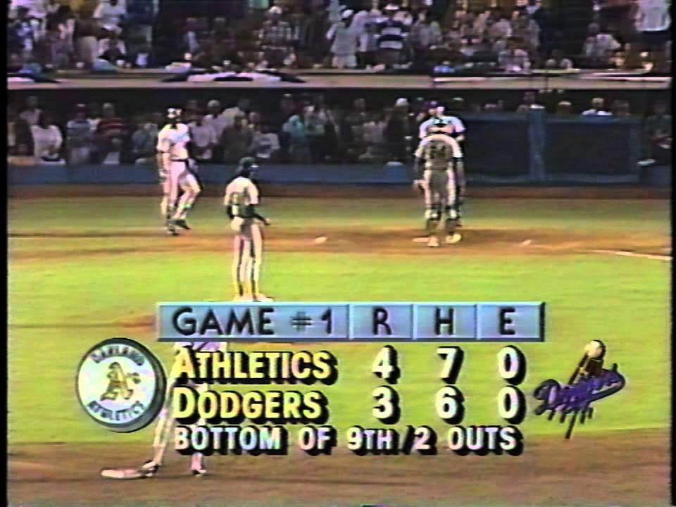 Kirk Gibson's 1988 World Series historic home run-bottom of the 9th - YouTube