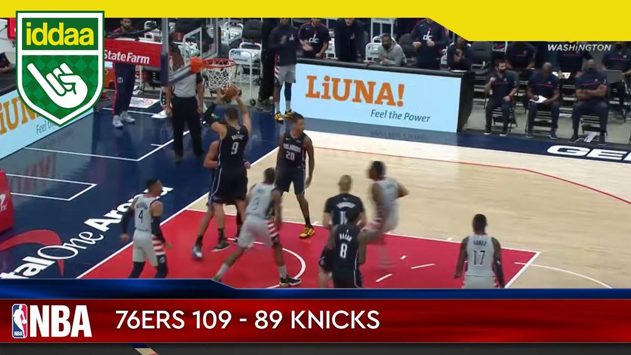 Philadelphia 76ers – New York Knicks Maç Özeti