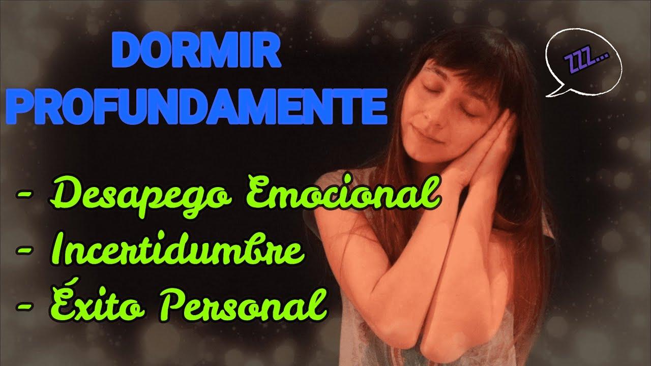 DESAPEGO EMOCIONAL | RELAJACIÓN GUIADA para DORMIR PROFUNDAMENTE | Ley de ÉXITO 🌹SANACIÓN🌹 ASMR