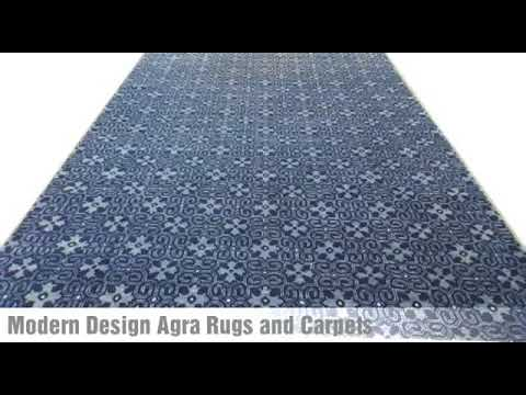 Agra Wool Rugs Collection - Modern Design