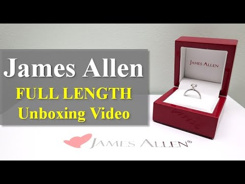 Unboxing a Diamond Ring Purchased From James Allen