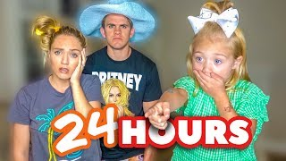 We Had To Say YES To EVERYTHING Everleigh Said For 24 Hours!!! *6 Year Old Controls Parent's Life*