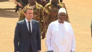 Emmanuel Macron in Mali  France committed to fighting terrorism