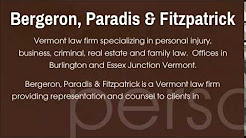 personal injury lawyer burlington Vermont