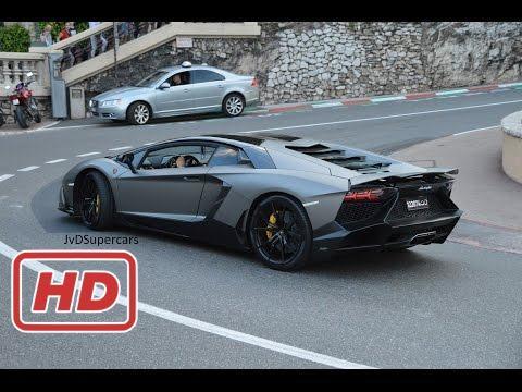 [ Mr Glenn ] Arab Aventador W/ Custom Exhaust in Monaco! Unloading, Revs & Sounds!