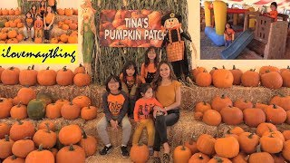 Halloween Pumpkin Patch 2018! Kids