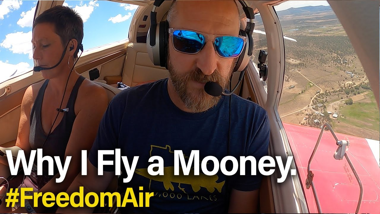 Download Denver to Durango flying a Mooney with Rob Swanson   #FreedomAir