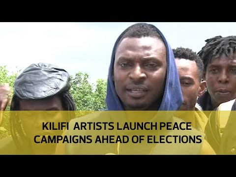 Kilifi artists launch peace campaigns ahead of elections