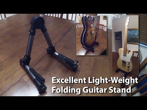 Super Light-Weight Folding Guitar Stand - Very Cool