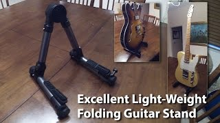 Super Light-weight Folding Guitar Stand - Very Cool