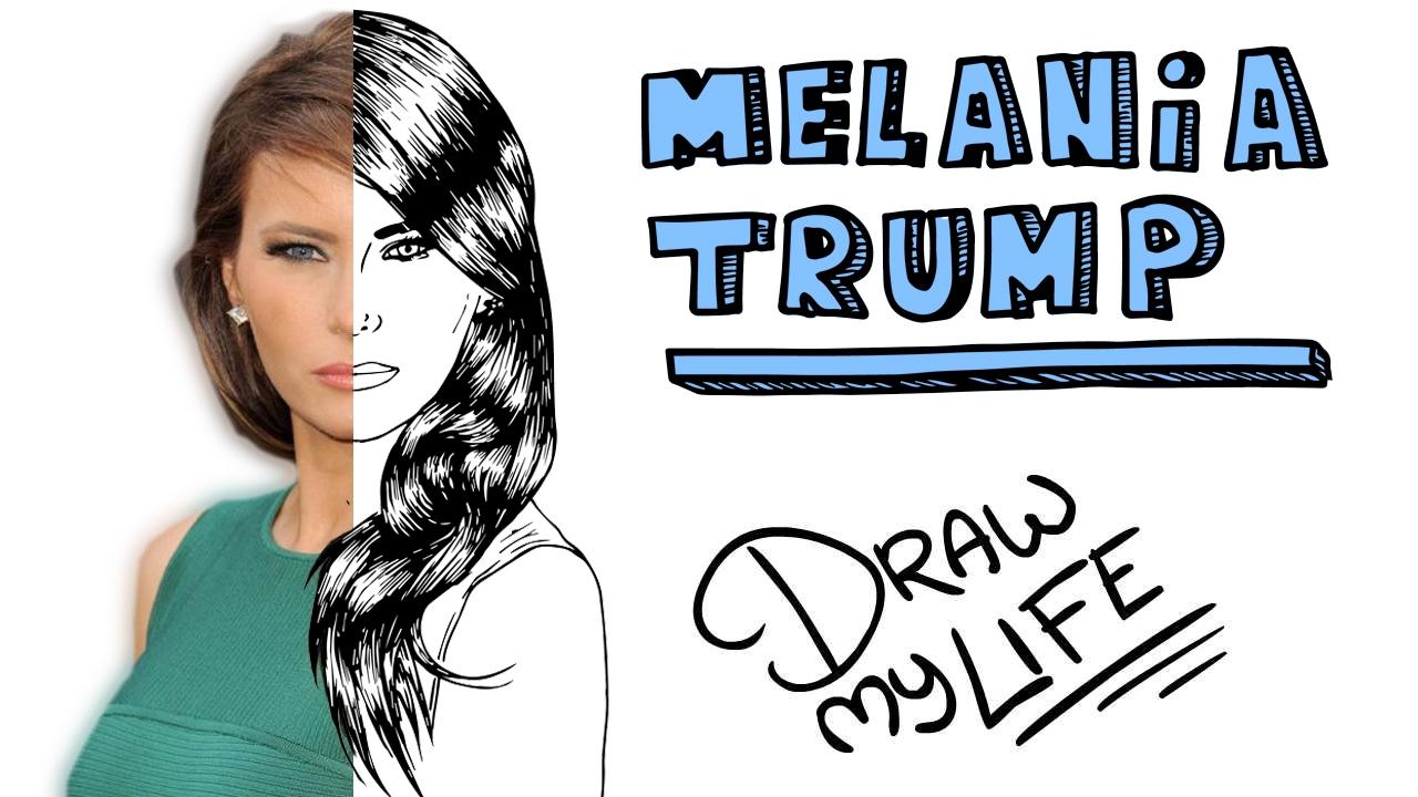 MELANIA TRUMP | Draw My Life