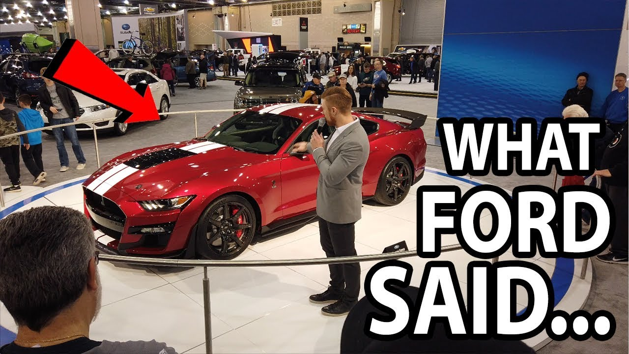 Philly Auto Show 2020.What Ford Said About The 2020 Shelby Gt500 At 2019 Philly Auto Show