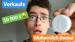 Ich verkaufe den 50000 € Müllermilch Deckel - muuh gefunden