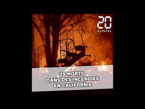 Lincendie Woolsey Fire ravage louest de Los Angeles