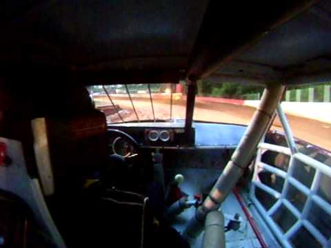 East lincoln speedway in car cam #15 Brandon Atkinson