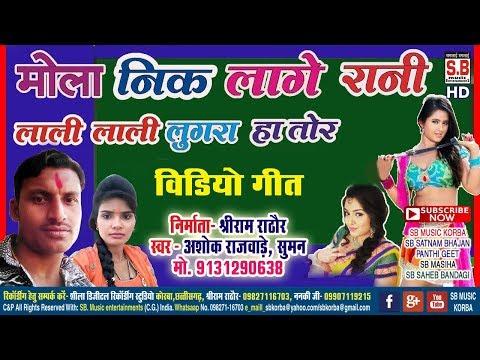 मोला नीक लागे रानी-cg video song-Mola Nik Lage Rani-Ashok rajwade Suman Kurre-sarguja karma dadariya
