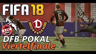 FIFA 18 KARRIERE #026 | POKAL ⚽️ 1.FC KÖLN Gegen DYNAMO DREDEN ● Let's Play Fifa 18
