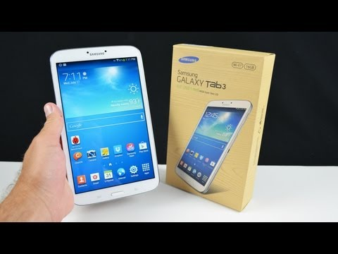 Samsung Galaxy Tab 3 8.0: Unboxing & Review