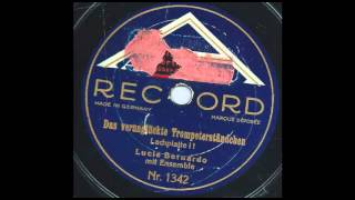 Das verünglückte Trompeterständchen (Lachplatte) - Lucie Bernardo