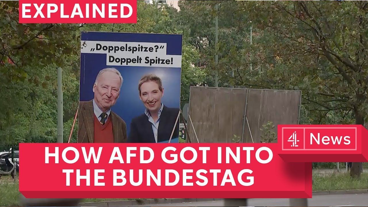 How AfD reached the German parliament
