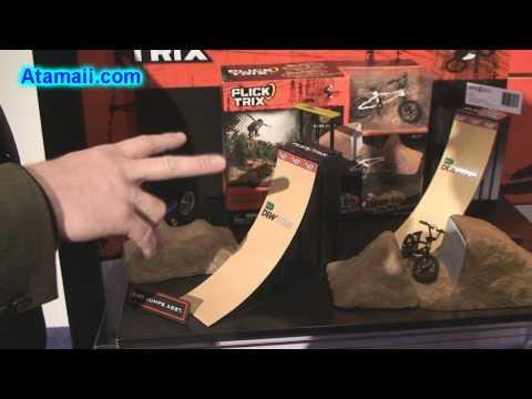 Flick Trix Fingerbikes BMX Bike Toys Spin Master Toy Fair 2010 Preview