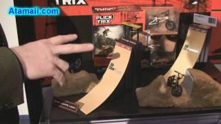 Флік Трікс Fingerbikes BMX велосипед іграшки Спін Майстер іграшка-ярмарок 2010 попередній перегляд