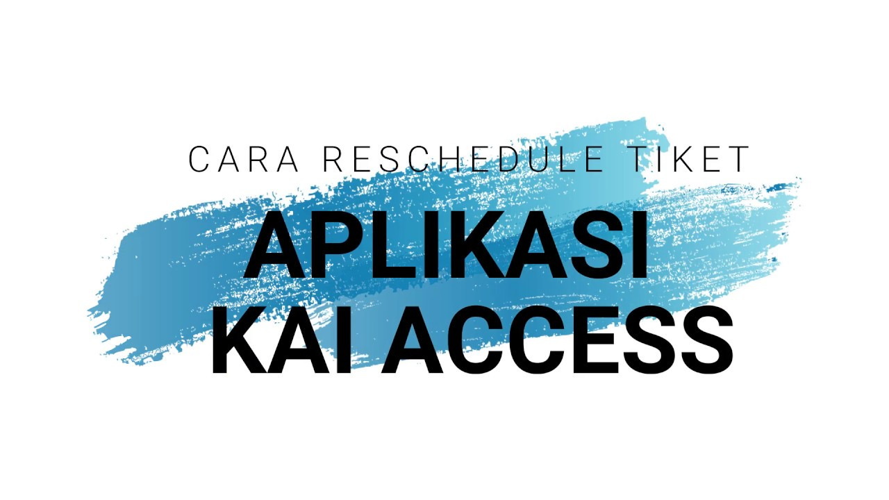Cara reschedule tiket kereta