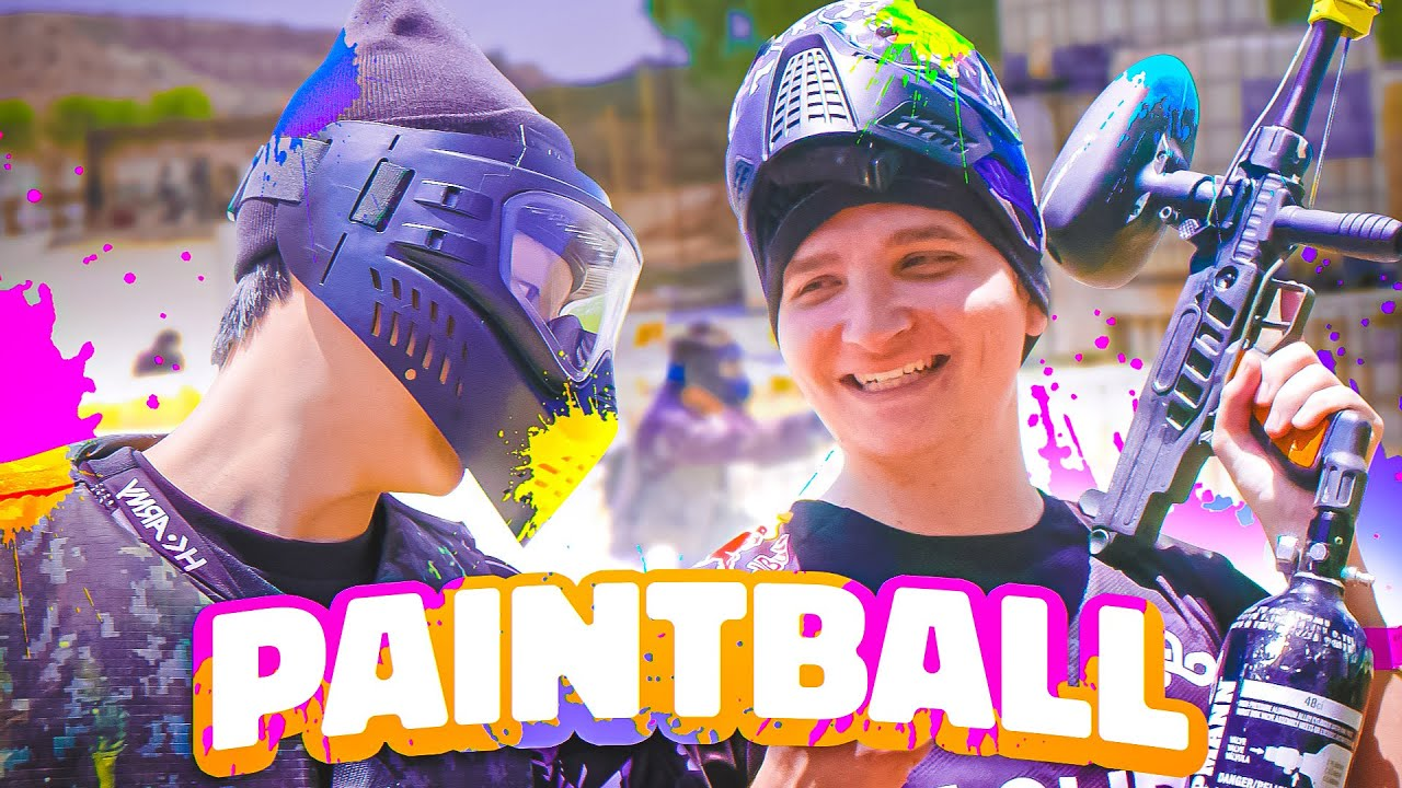 Can VALORANT Pros Play PAINTBALL BLINDFOLDED?! ft. Cloud9 Blue