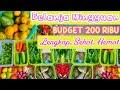 BELANJA MINGGUAN 200 RIBU | LENGKAP, HEMAT, SEHAT | FOOD PREPARATION INDONESIA