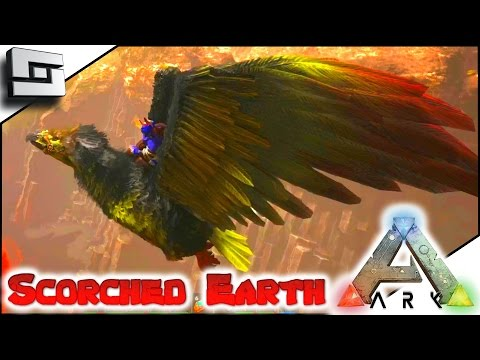 ARK: Scorched Earth - DEATH BY FIRE WYVERN! E28 ( Scorched Earth Map Gameplay )