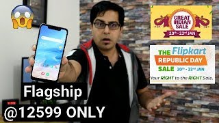 Flagship Smartphones @ Only 12599 I Flipkart Republic Day Sale 2019 And Amazon Great Indian Sale