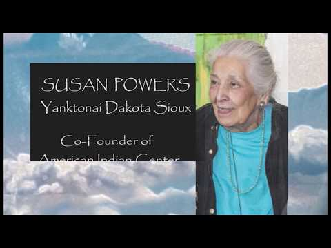 """Behind the Scenes"" with Susan Powers, Co-Founder of American Indian Center"