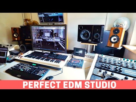 VISITING THE PERFECT EDM PRODUCTION STUDIO