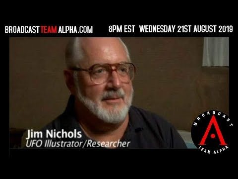 BTA Wednesday 8-21-19 with Jim Nichols! 5pm PDT 8pm EDT