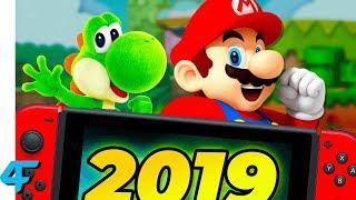 Predicting Nintendo Switch Games & Nintendo Direct For Q1 2019