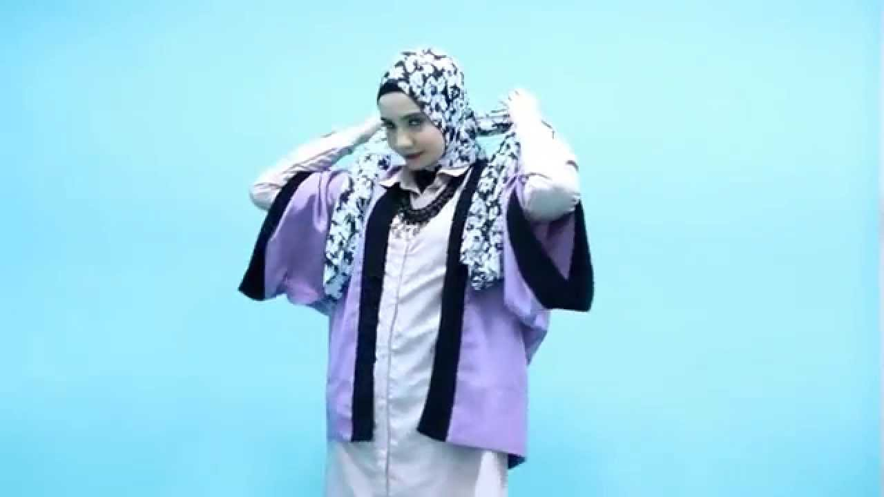 Tutorial Hijab Zaskia Sungkar Simple Trendy YouTube