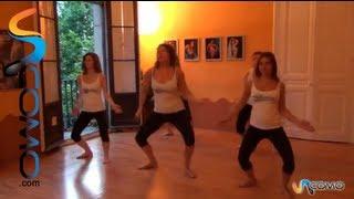Coreografía sencilla de danza afro-brasileira (segunda parte)