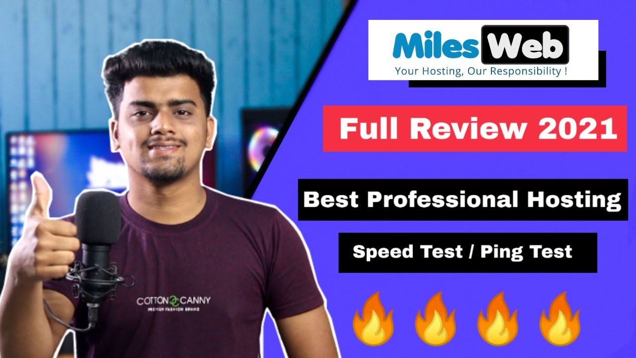 Download MilesWeb Review 2021 |  Honest Review | Best Professional Web Hosting 2021