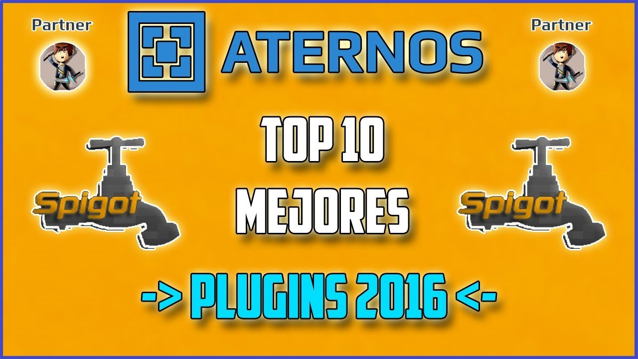 ATERNOS !! TOP 10 Mejores PLUGINS Para ATERNOS ...