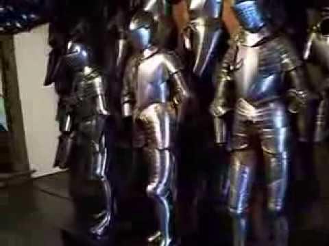 Knights' Armour - Graz Styrian Armoury /Museum Austria 2013