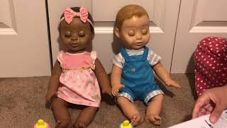 Review of the Luvabeau and Luvabella Realistic Baby Dolls that Come Alive!