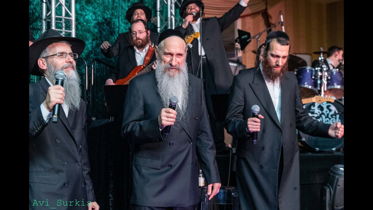 Three Stars Sharing The Stage! MBD, Avraham Fried, Beri Weber with The Freilach Band & Shira Cho