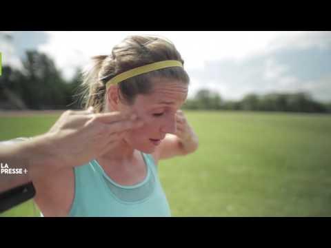 Documentaire « Courir 10 km en 40 minutes », Evelyne Audet, La Presse Plus, 2015