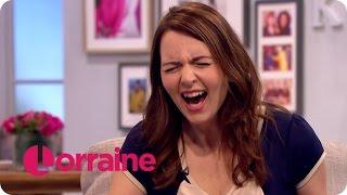 Debra Stephenson Impersonates Lorraine