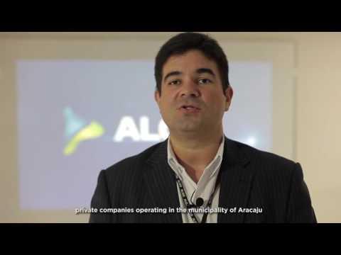 Jouassyr Cavalcanti, engenheiro comercial da Aloo Telecom - LEGENDA INGLÊS