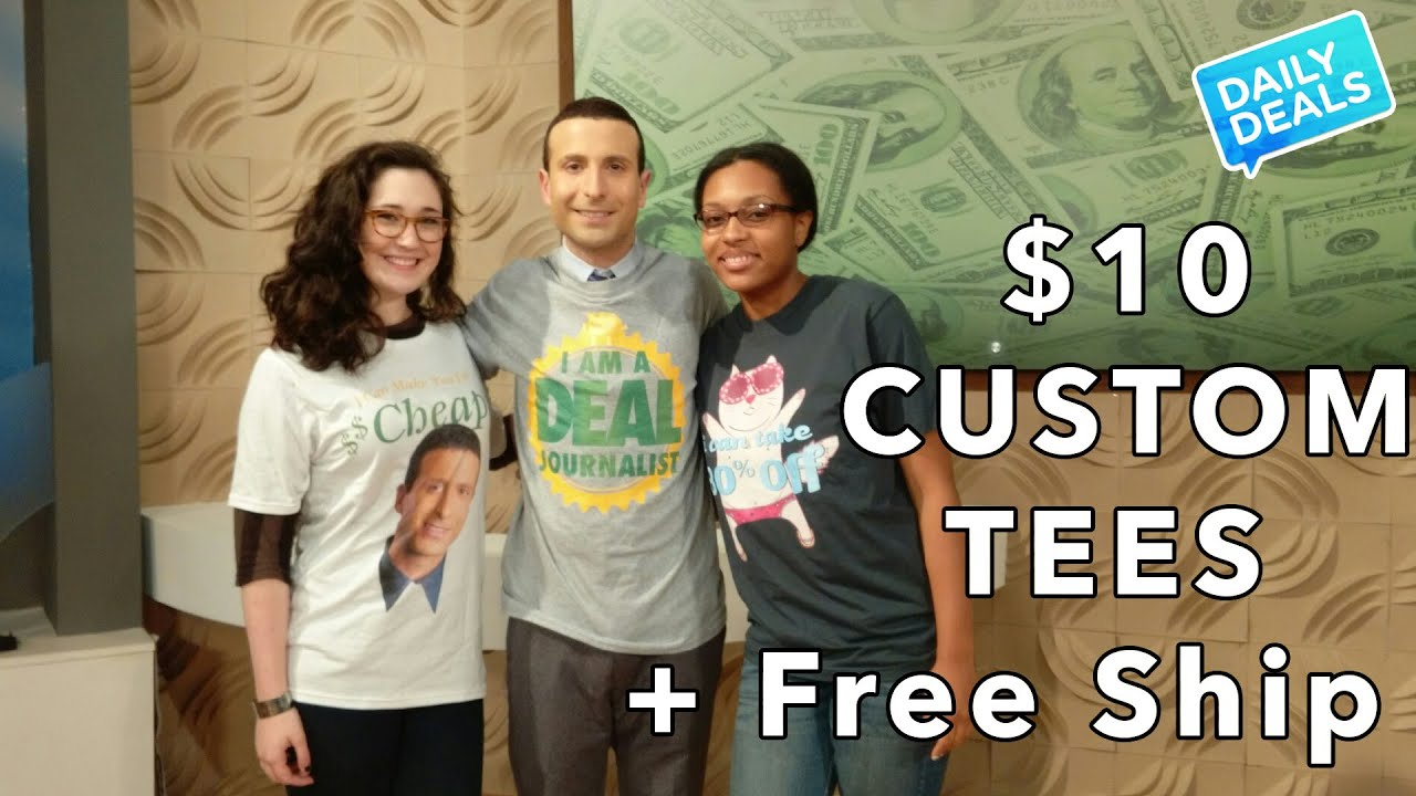 10 Custom Shirts Printing Clothes T Shirt Design The Deal Guy