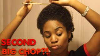 Glamfun CHANNEL update and SECOND BIG CHOP!?!? Thumbnail