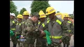 Ingenieros militares entregan obras en Chaparral, Tolima