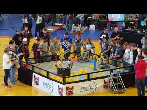 VEX In The Zone Ohio State Championship SF 2-2 1344A 2011C vs 6403A 6008Z